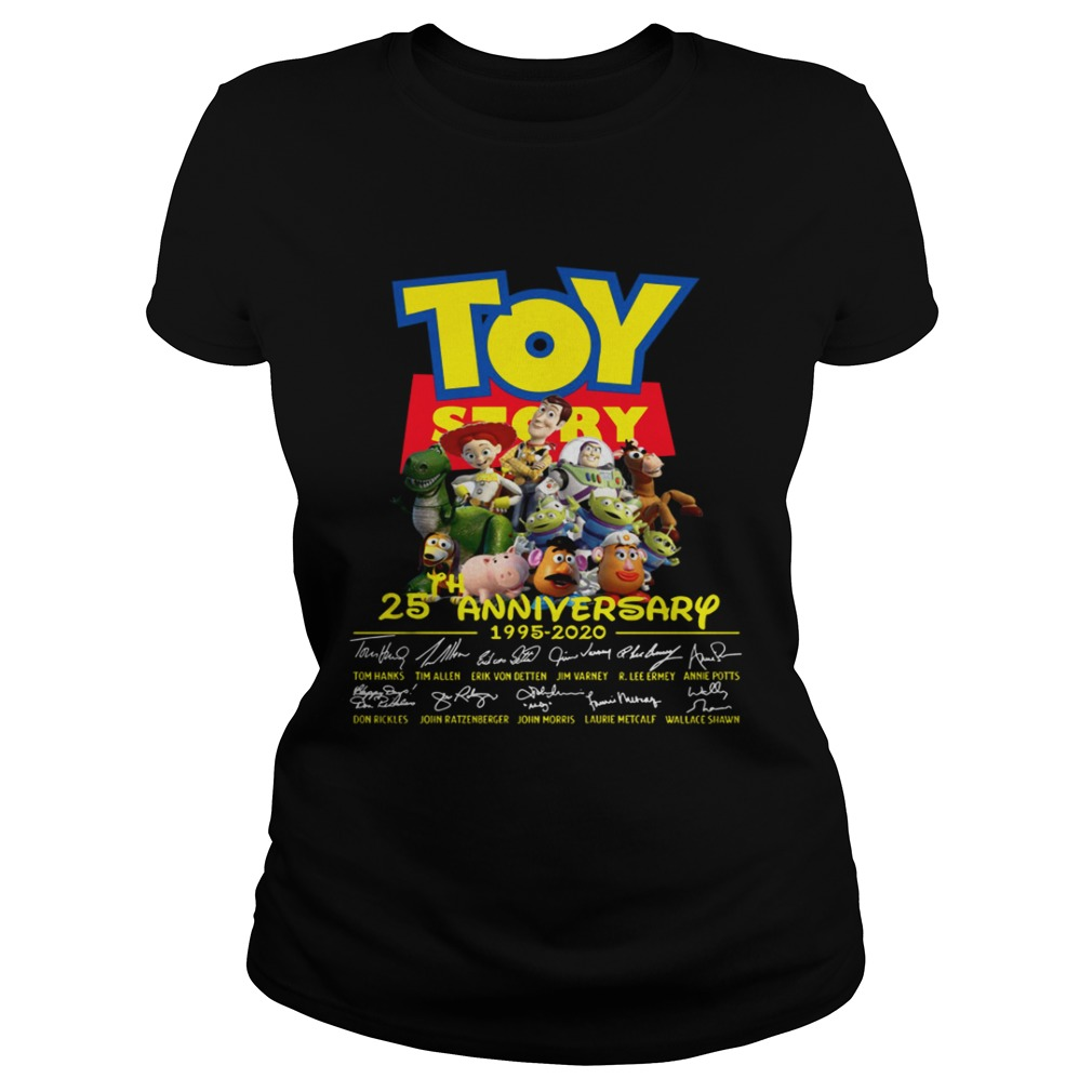 Toy Story 25th Anniversary 1995 2020  Classic Ladies