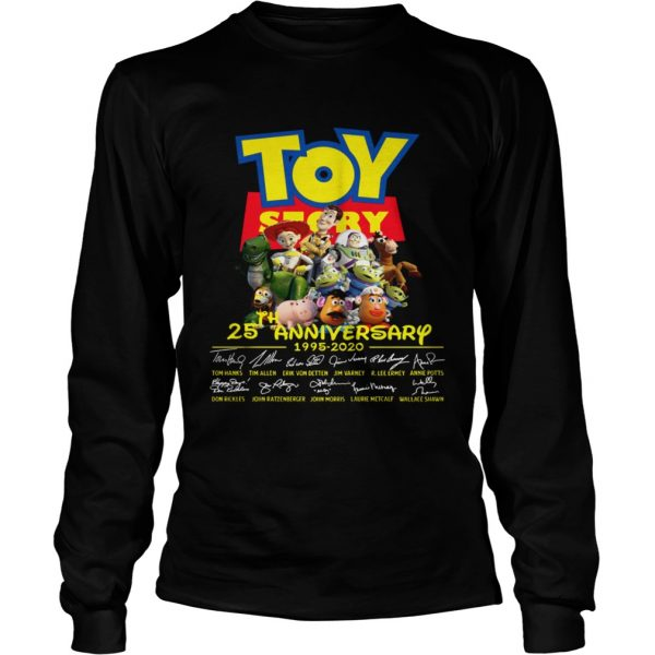 Toy Story 25th Anniversary 1995 2020  LongSleeve
