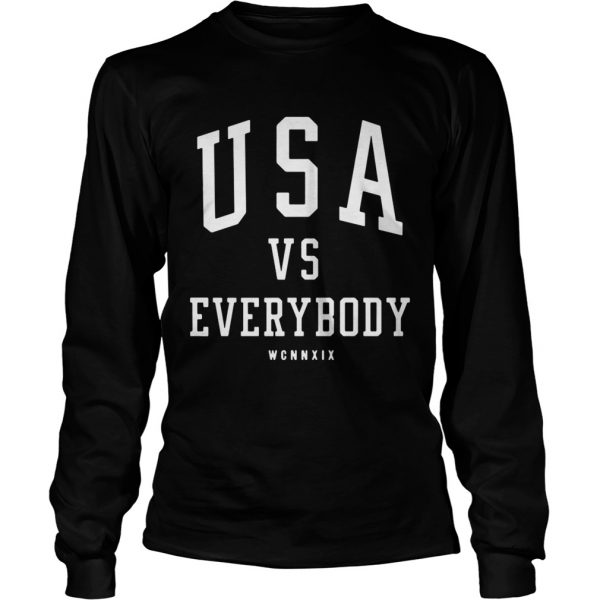 USA vs everybody WCNNXIX  LongSleeve