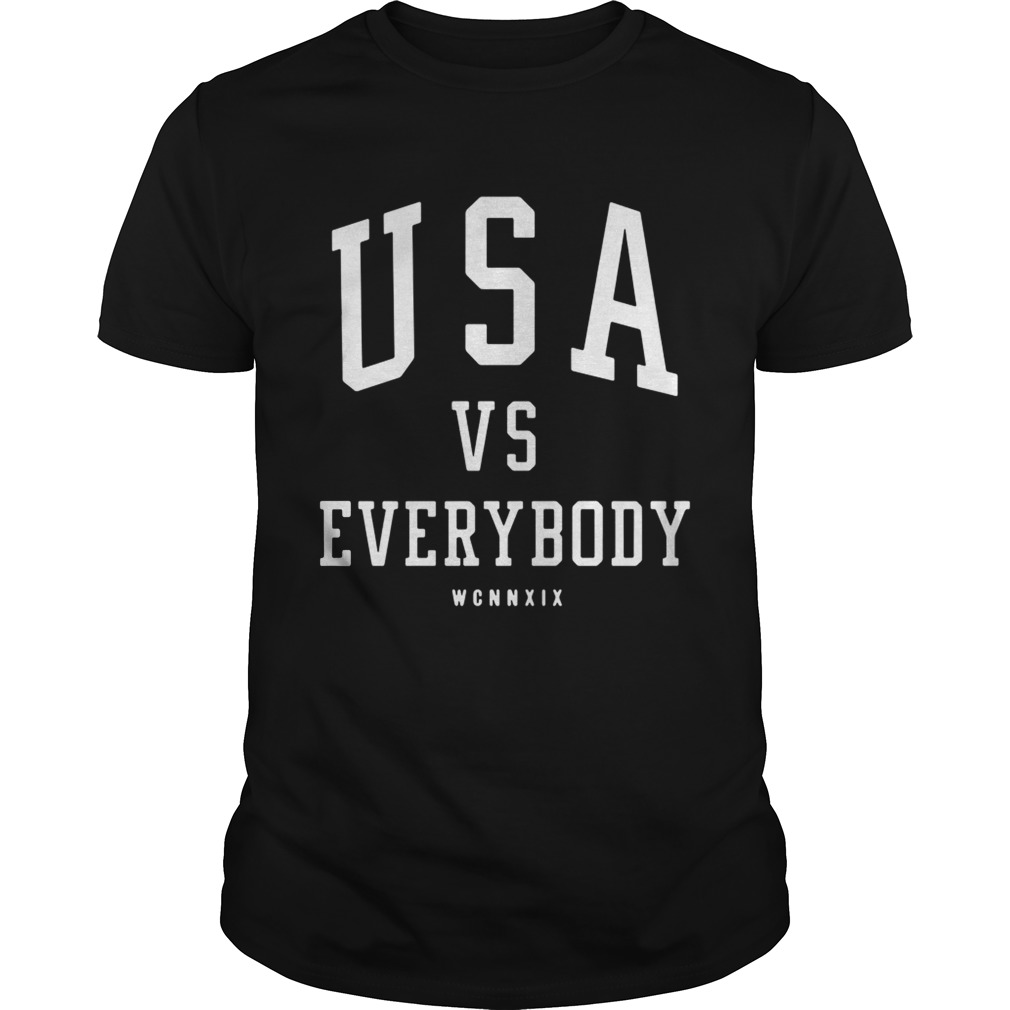 USA vs everybody WCNNXIX  Unisex