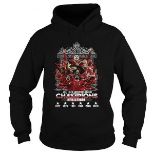 Youll never walk alone 2019 UEFA Champions League Liverpool Hoodie