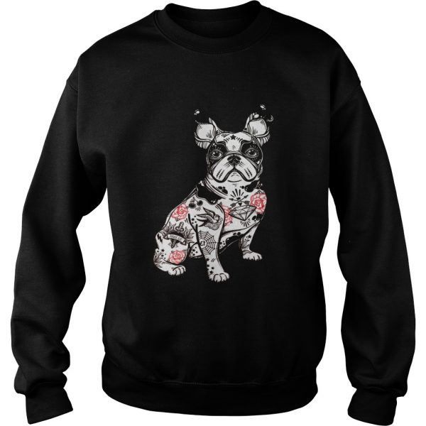 Frenchie Tattoo  Sweatshirt