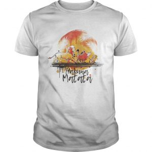 Hakuna Matata The Lion King Simba Pumbaa And Timon  Unisex