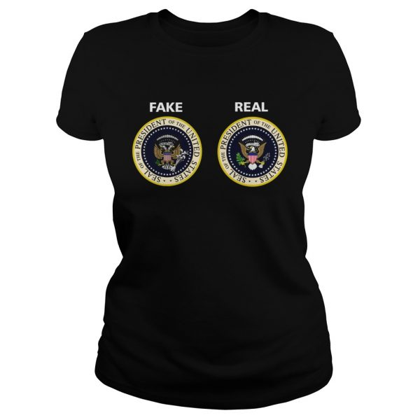 Real and Fake Presidential Seal  Classic Ladies