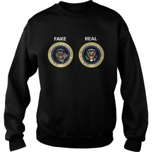 Real and Fake Presidential Seal  Sweatshirt
