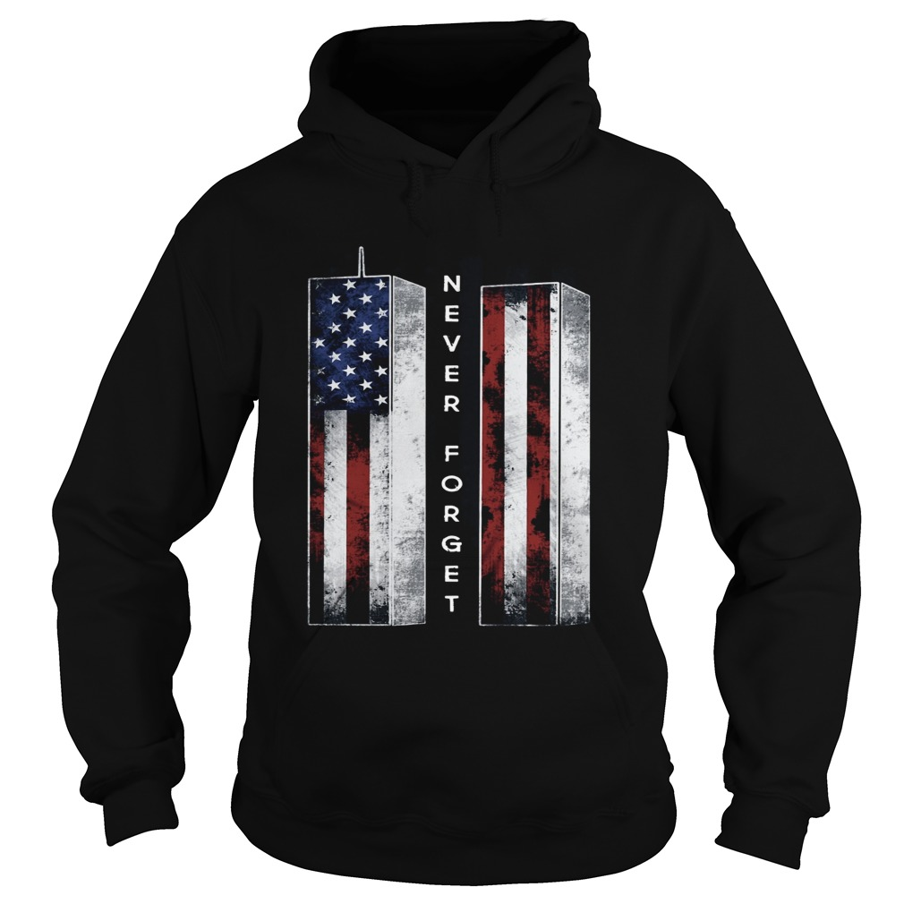 September 11 we will never forget 4th of July  Hoodie