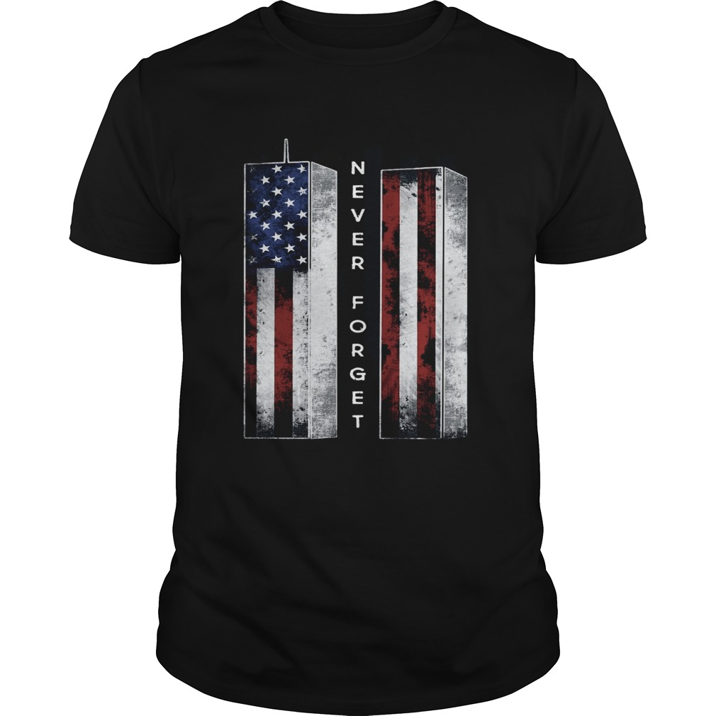 September 11 we will never forget 4th of July  Unisex