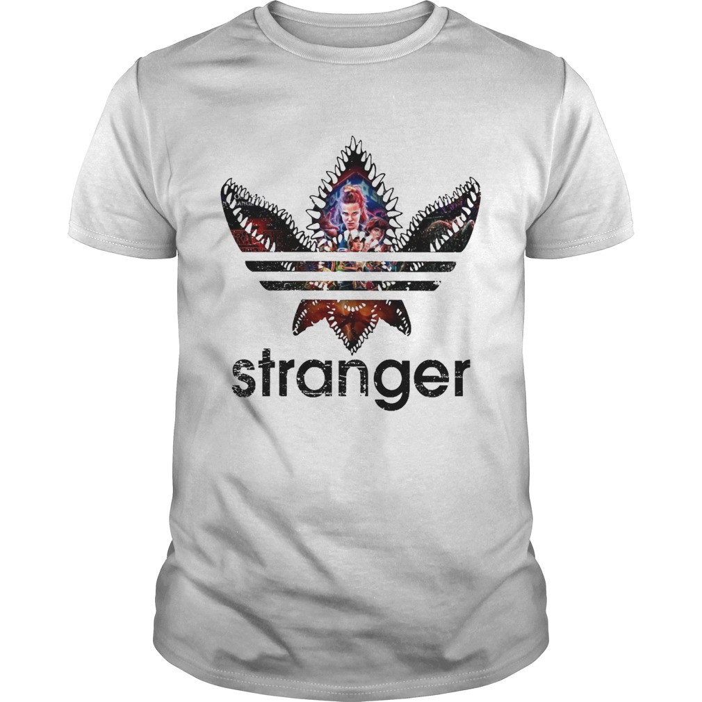 Stranger Things Adidas Stranger shirt