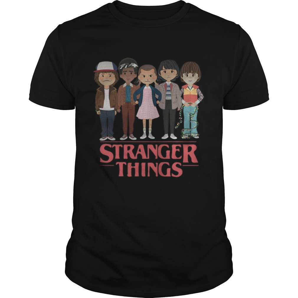 Stranger Things angry cartoon face characters  Unisex