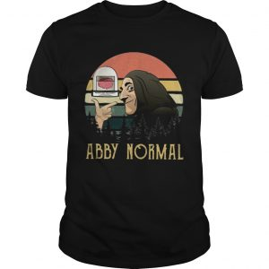 Young Frankenstein abby normal vintage sunset  Unisex
