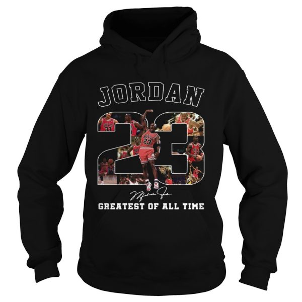 20 Michael Jordan Greatest of all time  Hoodie