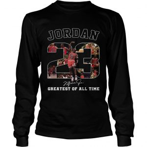 20 Michael Jordan Greatest of all time  LongSleeve