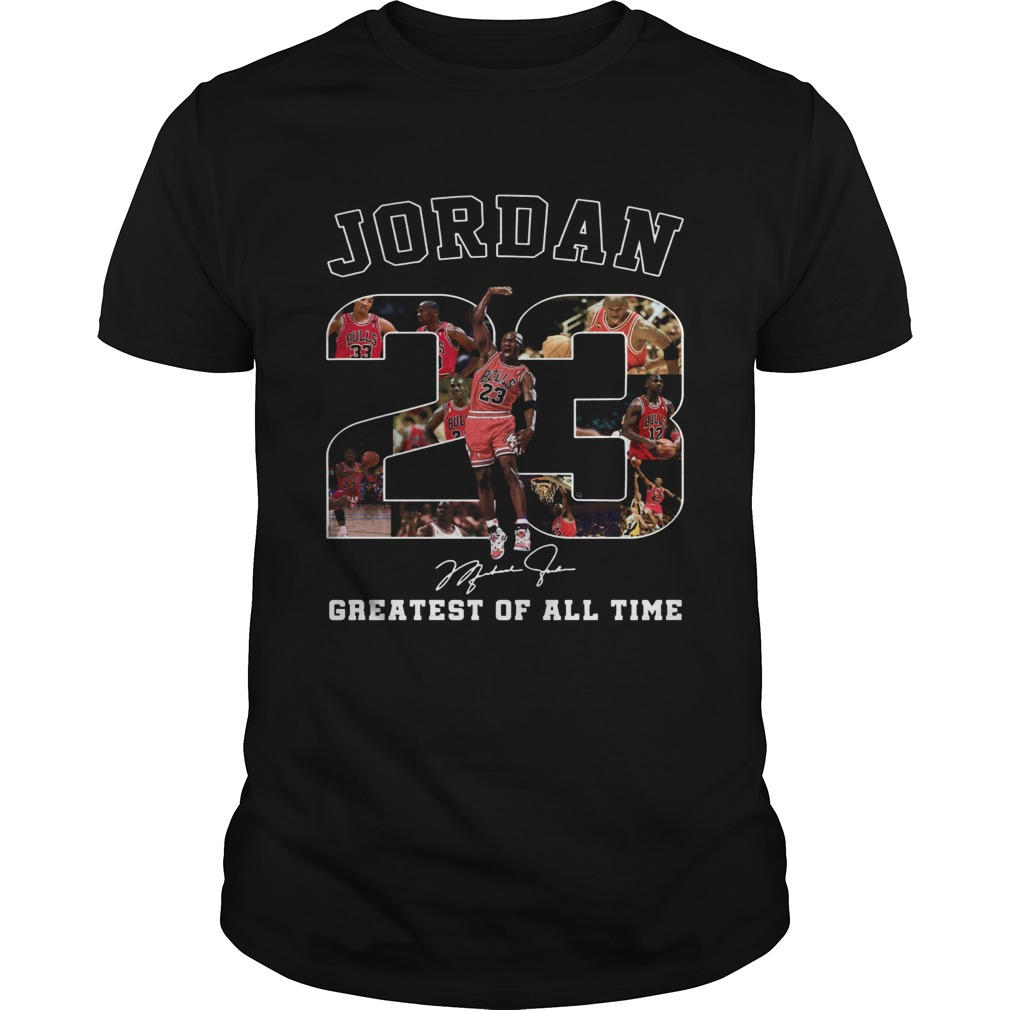 20 Michael Jordan Greatest of all time  Unisex
