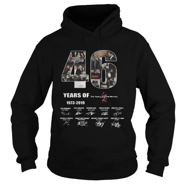 46 Years of The Young and the Restless  Hoodie