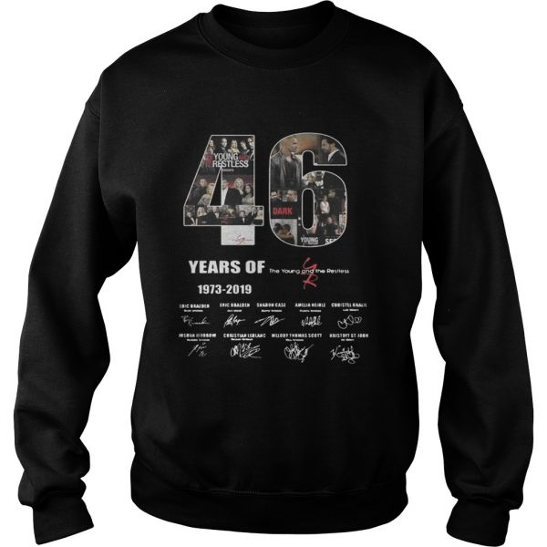 46 Years of The Young and the Restless  Sweatshirt