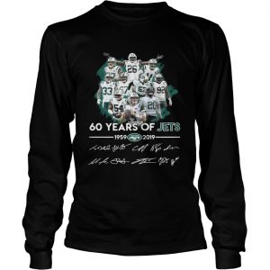 60 years of Jets 19592019 signature  LongSleeve