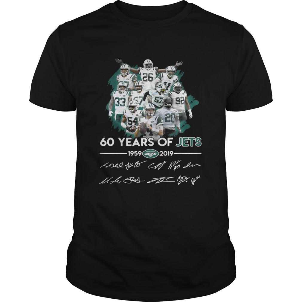 60 years of Jets 19592019 signature  Unisex