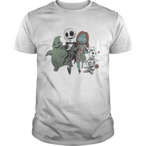 Jack Skellington and Sally and Zero Friend  Unisex