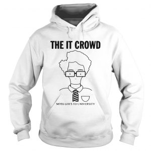 The IT Crowd moss goes to university  Hoodie