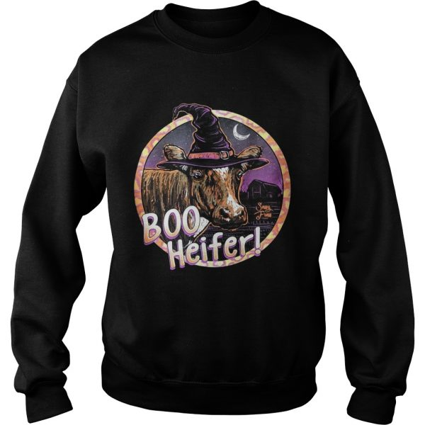 Boo heifer witch Halloween  Sweatshirt