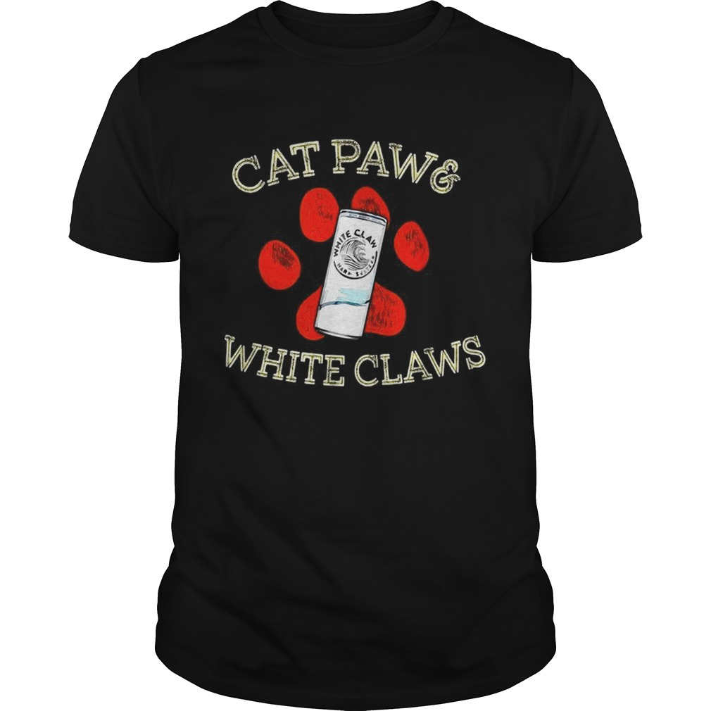 Cat paws and White Claws  Unisex