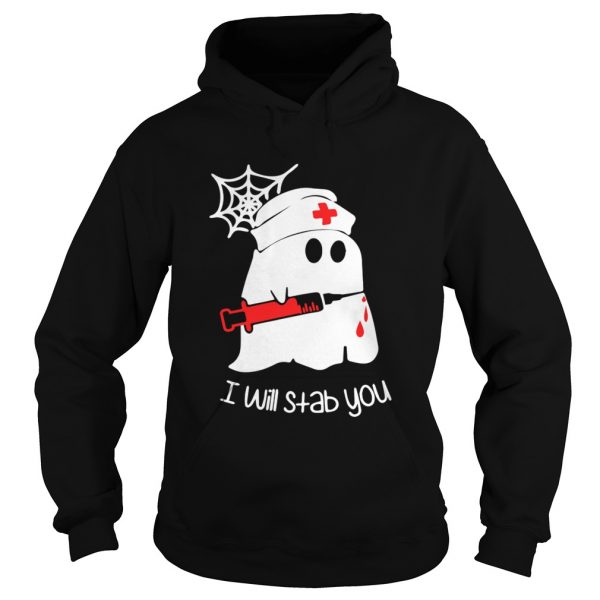 Ghost boo I will stab you  Hoodie