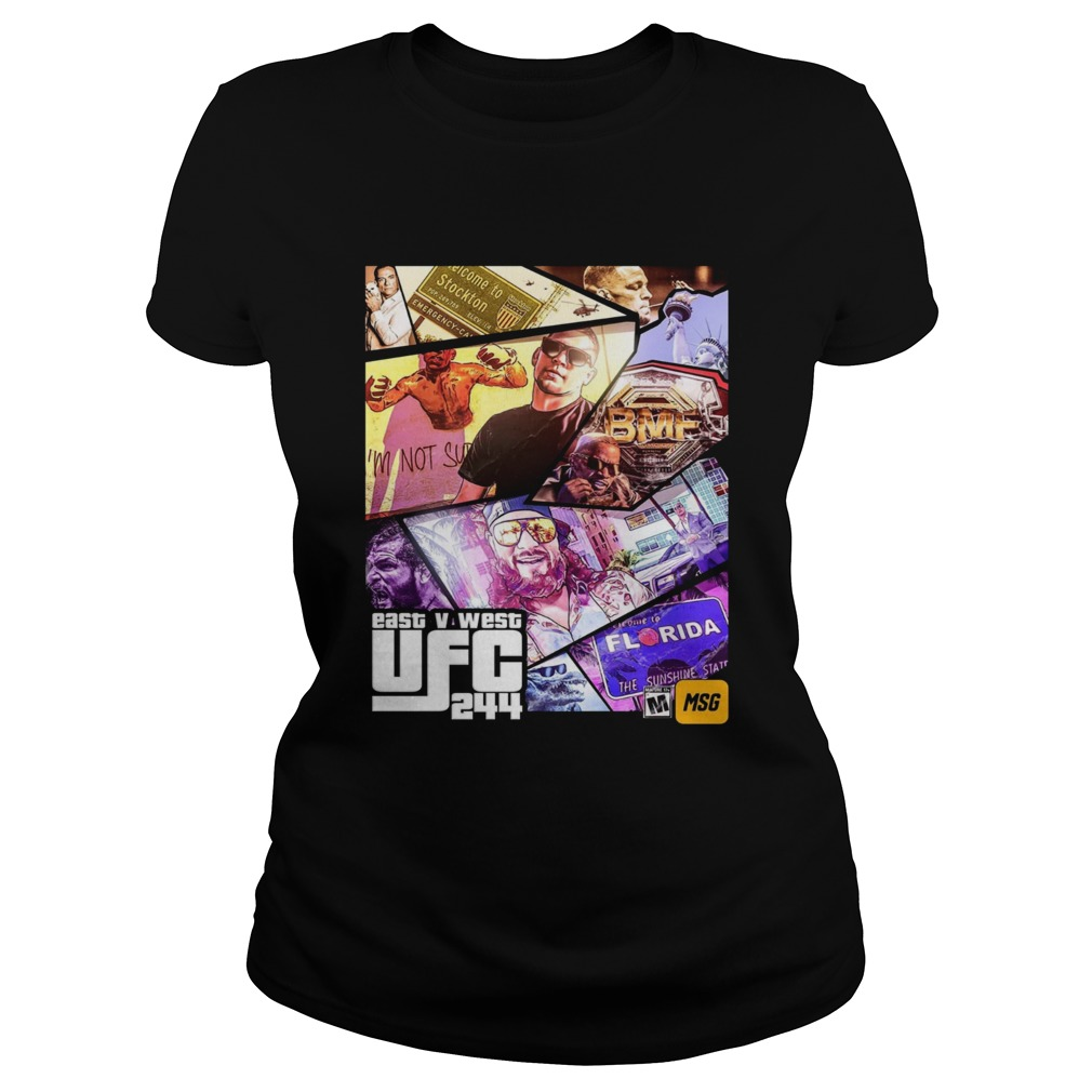 Grand Theft East V West UFC 244  Classic Ladies