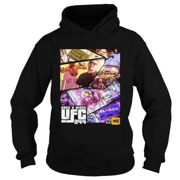 Grand Theft East V West UFC 244  Hoodie