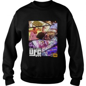 Grand Theft East V West UFC 244  Sweatshirt