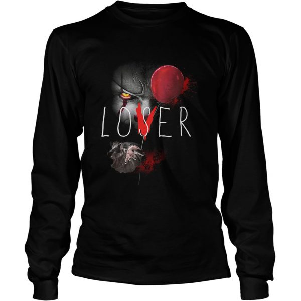 It pennywise lover loser  LongSleeve