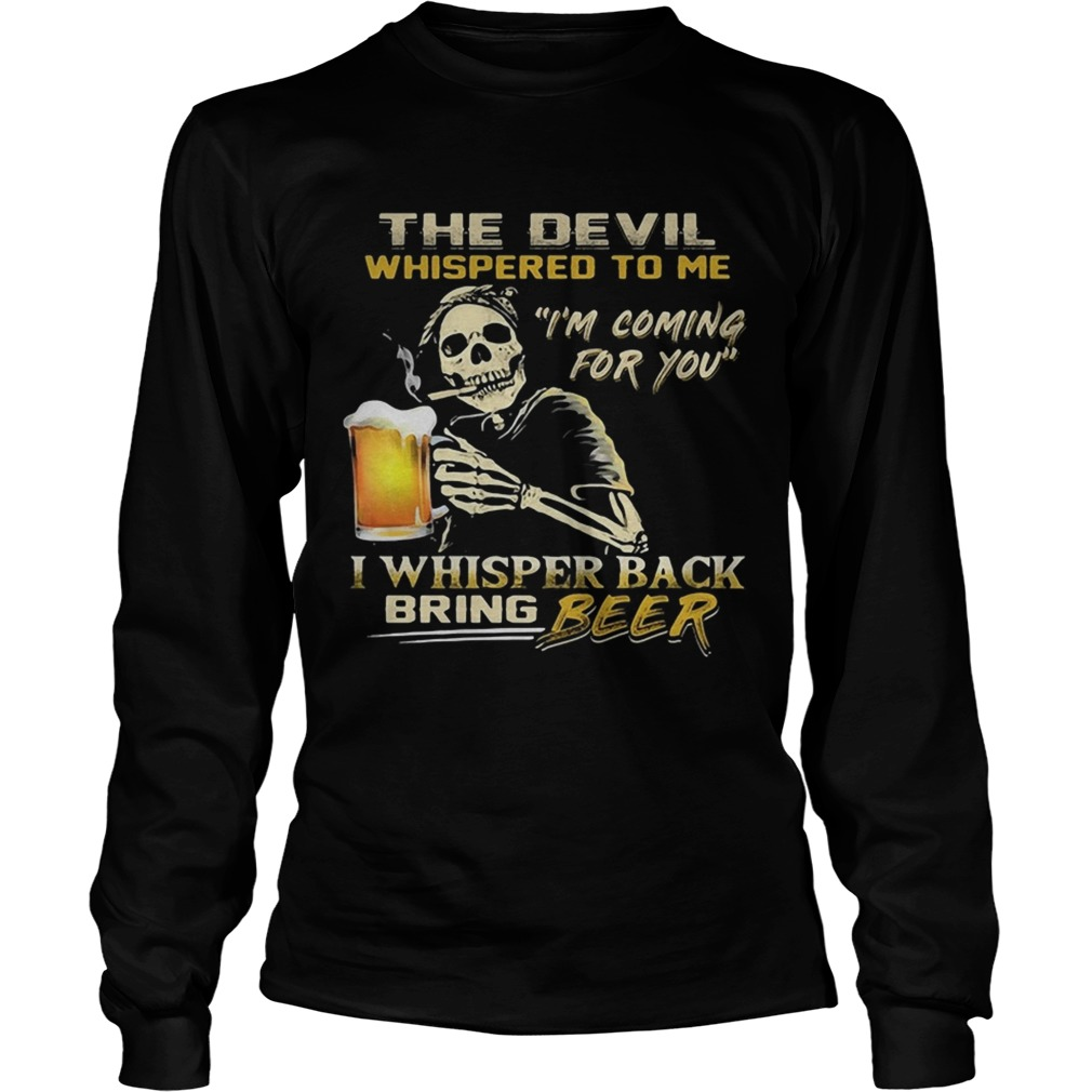 Jack Skellington I will drink beer here or there or everywhere  LongSleeve