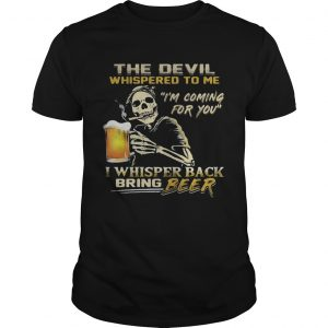 Jack Skellington I will drink beer here or there or everywhere  Unisex