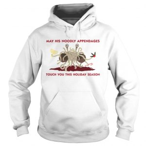 Spaghetti Monster May his Noodly appendages touch you this holiday season  Hoodie
