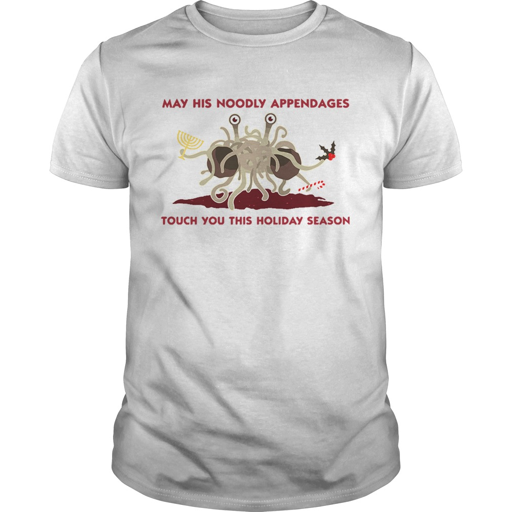 Spaghetti Monster May his Noodly appendages touch you this holiday season  Unisex