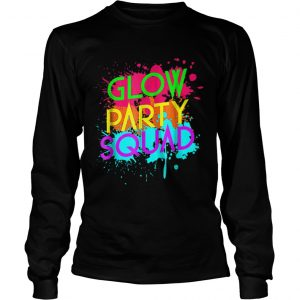 Awesome Glow Party SquadNeon Effect Group Halloween  LongSleeve