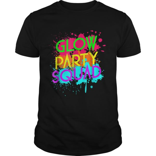 Awesome Glow Party SquadNeon Effect Group Halloween  Unisex