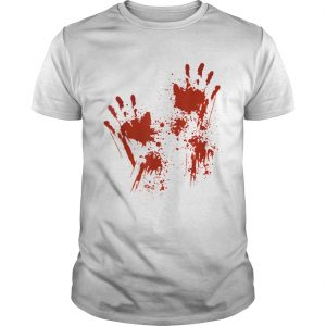 Halloween Blood Hands Costume Zombie Outfit  Unisex