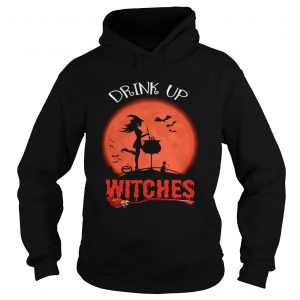 Halloween Drink Up Withches Vintage Wine Lover Gift TShirt Hoodie