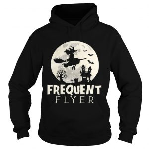 Halloween Witch Costume Frequent Flyer  Hoodie