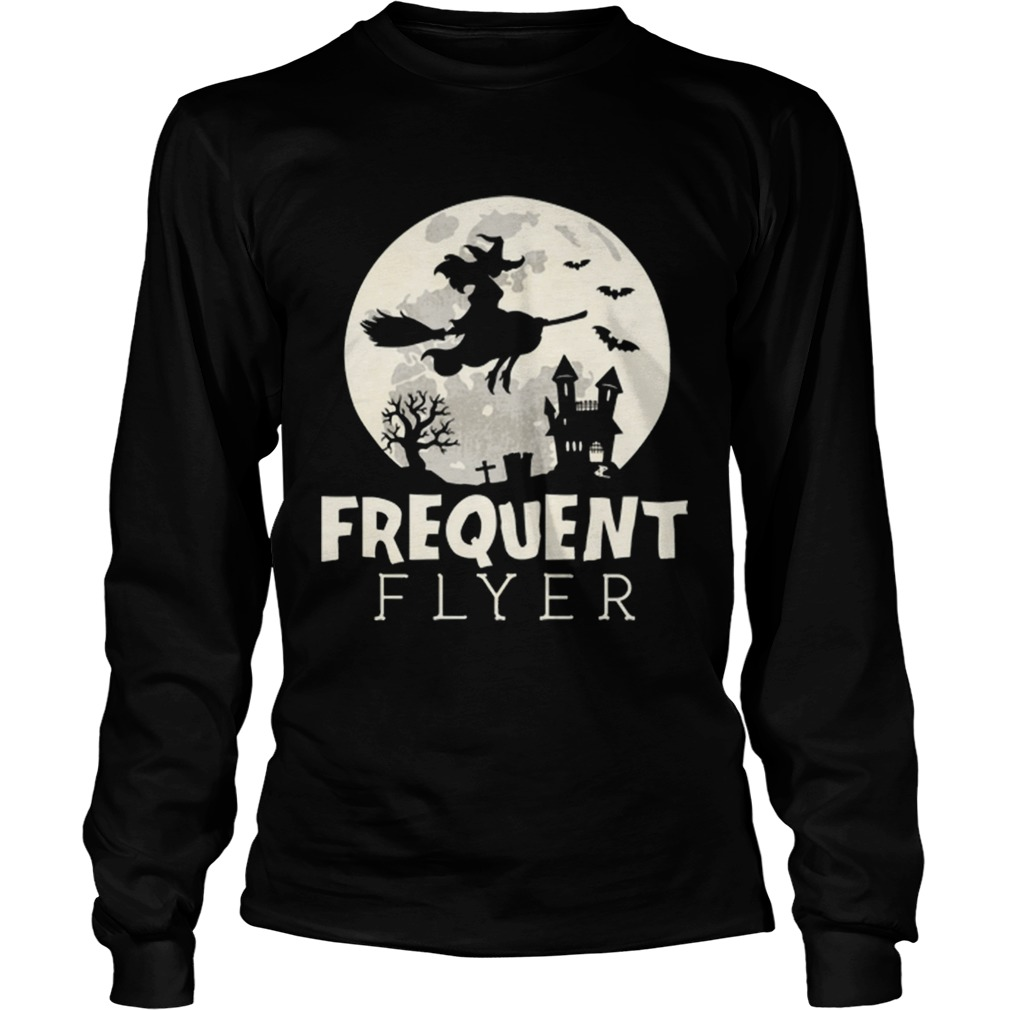 Halloween Witch Costume Frequent Flyer  LongSleeve