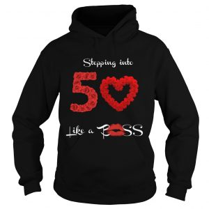 1572685739Stepping Into 50 Like A Boss Tote Shirt Hoodie