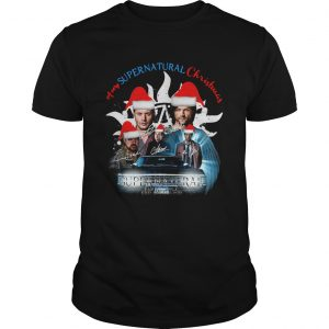 A Very Supernatural Christmas Signatures  Unisex
