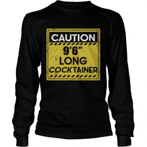 Caution 966 long cock tainer  LongSleeve