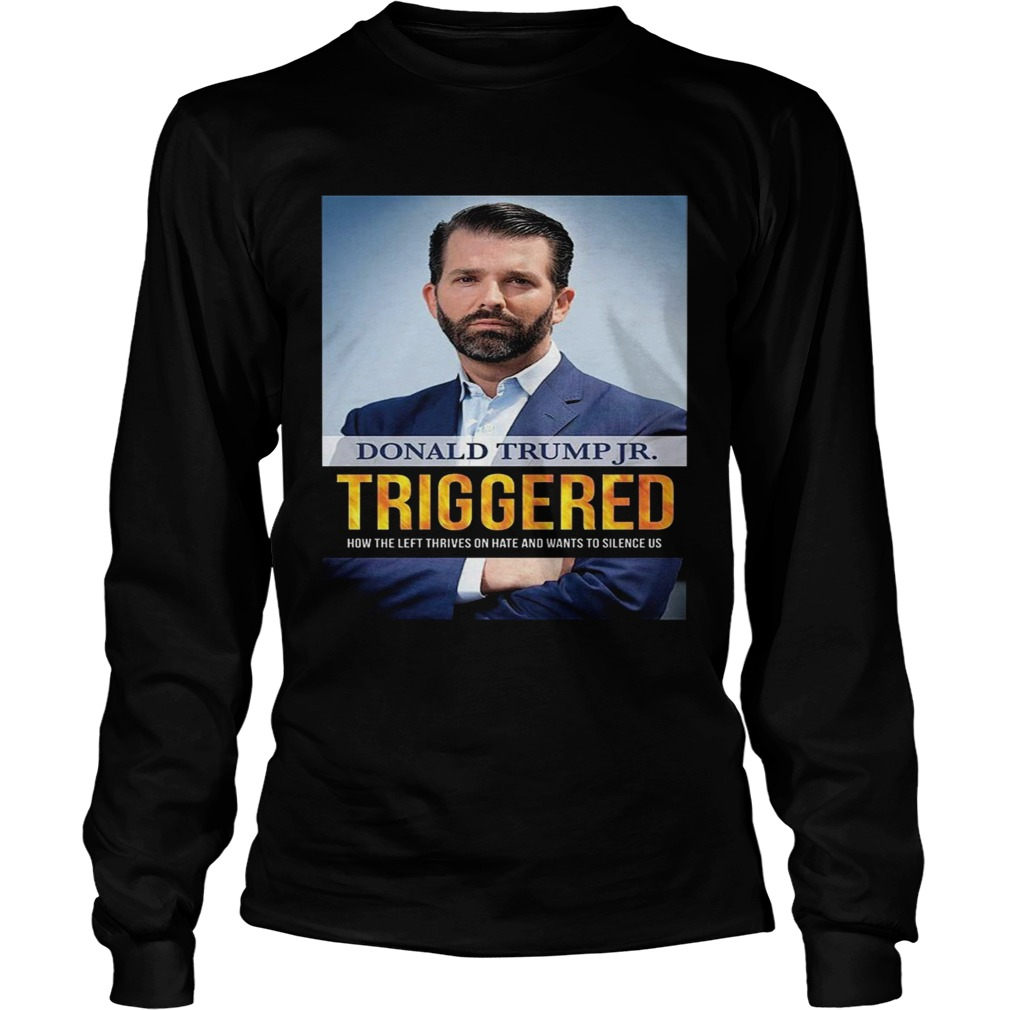 Donald Trump Triggered How The Left Thrives On Hate And Wants To Silence Us  LongSleeve