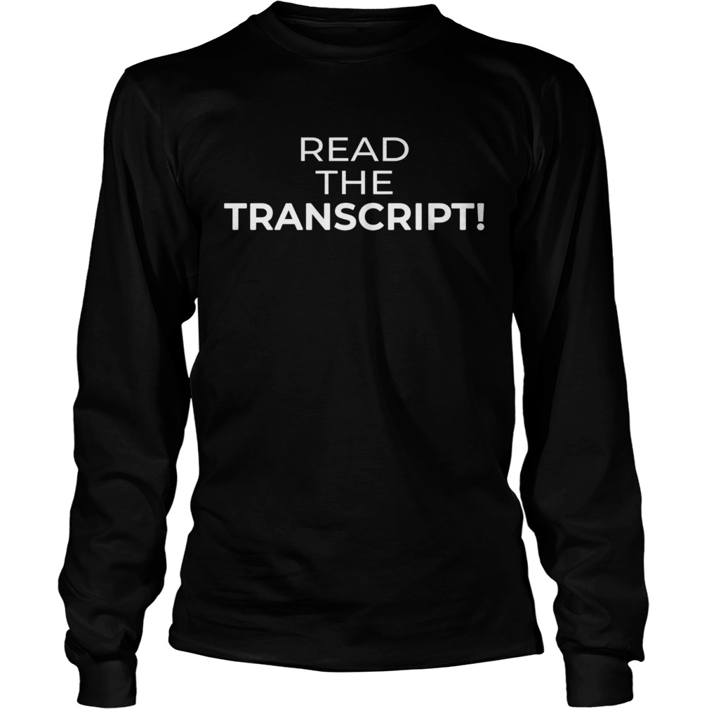 Read The Tran  LongSleeve