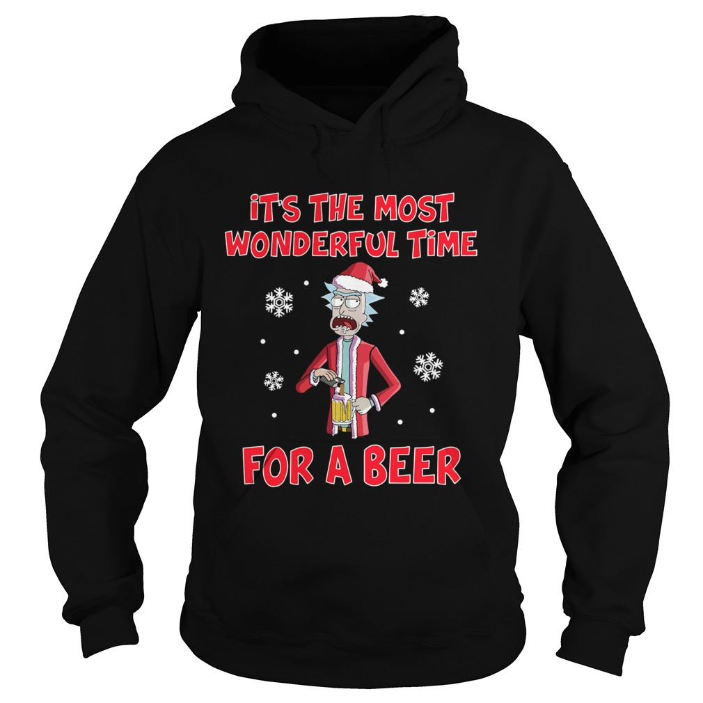 Rick Sanchez Its the most wonderful time for a beer  Hoodie