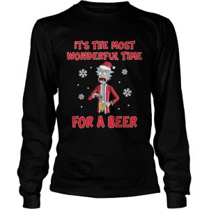 Rick Sanchez Its the most wonderful time for a beer  LongSleeve