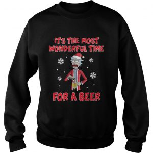 Rick Sanchez Its the most wonderful time for a beer  Sweatshirt