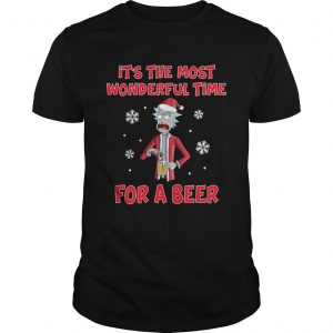 Rick Sanchez Its the most wonderful time for a beer  Unisex