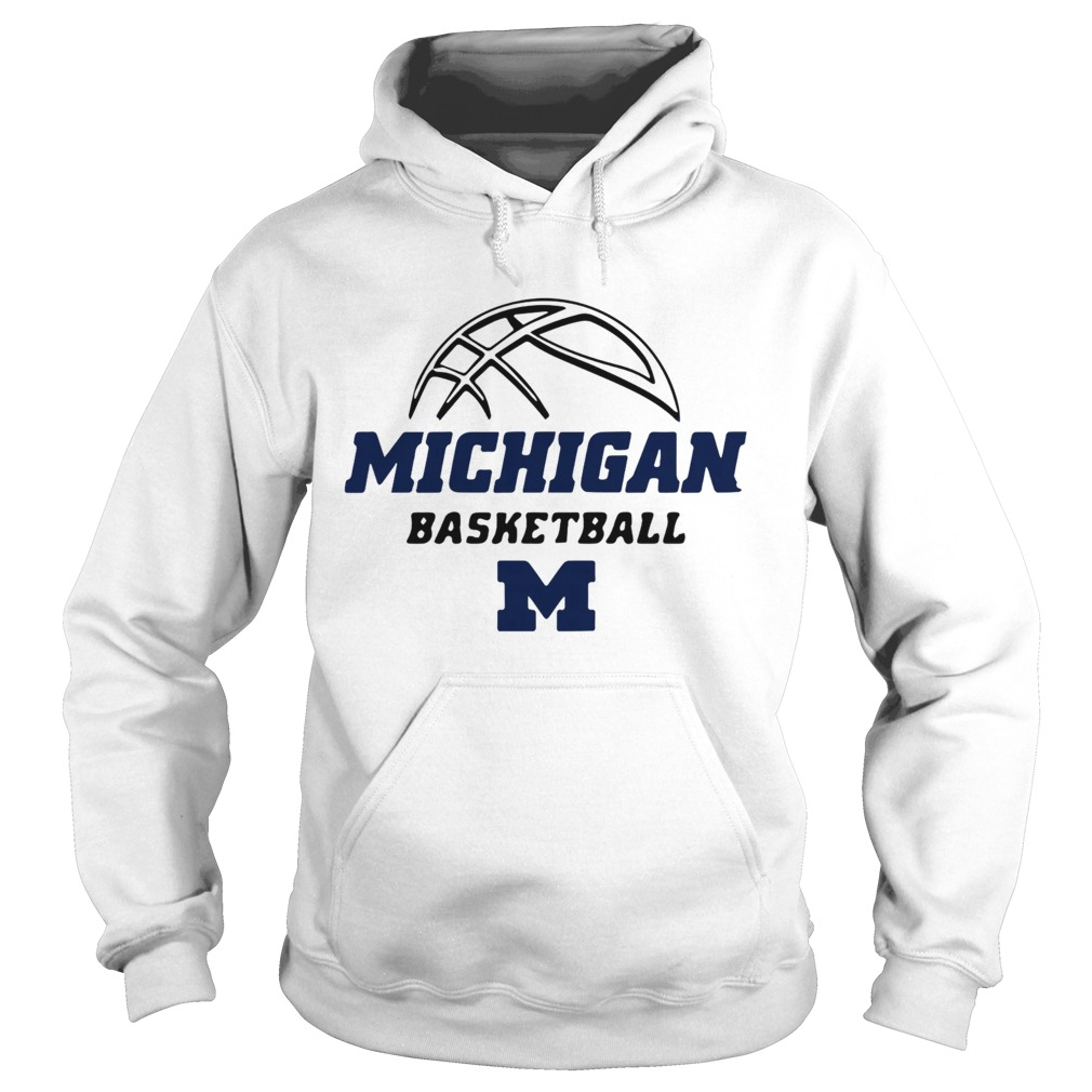 University of Michigan Basketball 20192020 Schedule  Hoodie